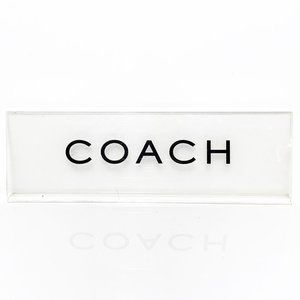 Authentic COACH Logo Retail Display Sign